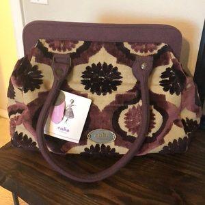 Cake by Petunia diaper bag, coin purse, wipe box